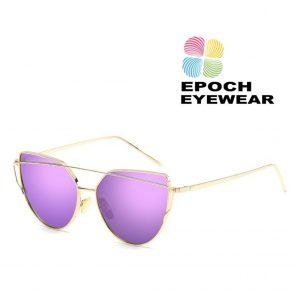 Óculos de Sol Rosa e Dourado| OK21WZ23