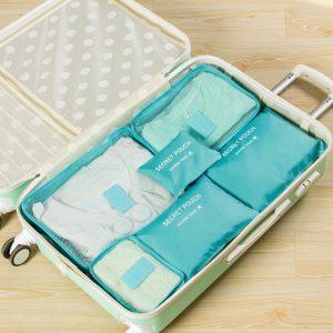Conjunto 6 Bolsas Organizadoras Para Viagem | KS20N