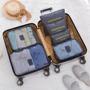 Conjunto 6 Bolsas Organizadoras Para Viagem | KS21WZ4