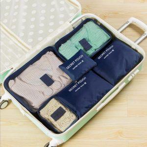 Conjunto 6 Bolsas Organizadoras Para Viagem | KS20