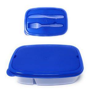 Tupperware com Compartimento para Talheres