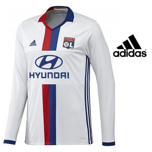 Adidas® Camisola Manga Comprida Olympique Lyon Oficial | Tecnologia Climacool®