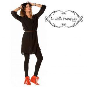 La Belle Française Paris® Blusa Caroline Preta | Tamanho M