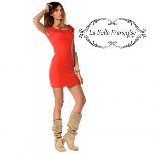 La Belle Française Paris® Vestido Lucie Vermelho | Tamanho M