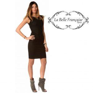 La Belle Française Paris® Vestido Maud Preto | Tamanho M