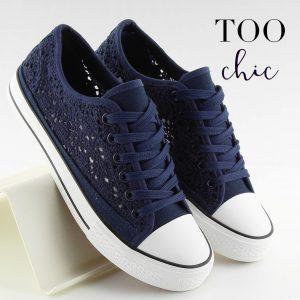 Sapatilhas Too Chic Fashion® Blue NB89P | Tamanho 37