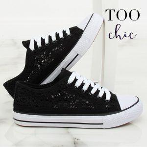 Sapatilhas Too Chic Fashion® Black NB282P | Tamanho 36