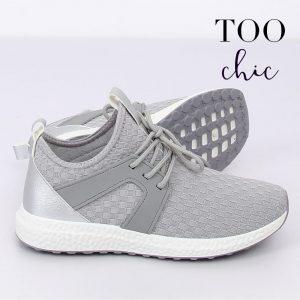 Sapatilhas Too Chic Fashion® Light Grey HY2820 | Tamanho 41