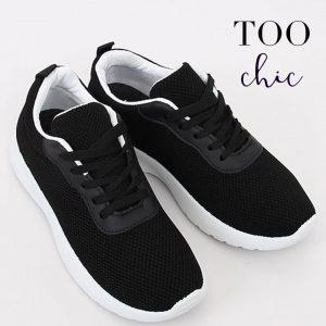Sapatilhas Too Chic Fashion® Black BK-116 | Tamanho 37