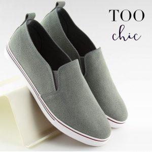 Sapatilhas Too Chic Fashion® D. Grey XL07P | Tamanho 39