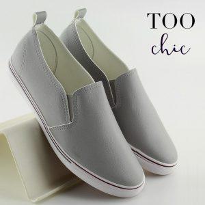 Sapatilhas Too Chic Fashion® Grey XL08P | Tamanho 39