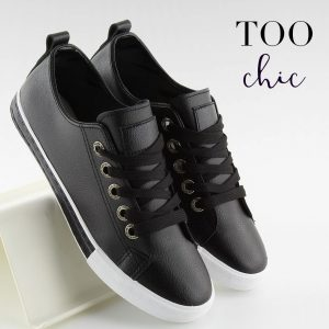 Sapatilhas Too Chic Fashion® Black A88-07 | Tamanho 39