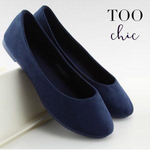 Sabrinas Too Chic Fashion® Navy JX1018 | Tamanho 37