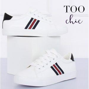 Sapatilhas Too Chic Fashion® White BL158P | Tamanho 40