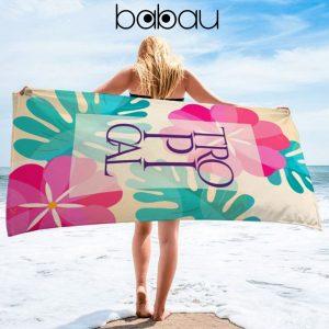 Toalha de Praia Tropical | 170 x 90cm
