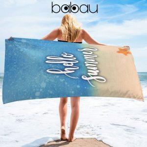 Toalha de Praia Hello Summer | 170 x 90cm