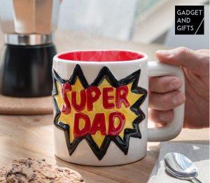 Caneca de Cerâmica Super Dad