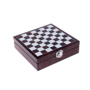 Conjunto de Acessórios para Vinho e Xadrez | 5 Peças
