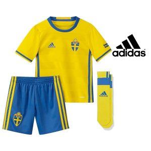 Adidas® Equipamento Oficial Suécia Junior | Tecnologia Climalite®