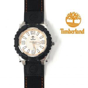 Relógio Timberland® Hookset Preto | Bege | 10ATM