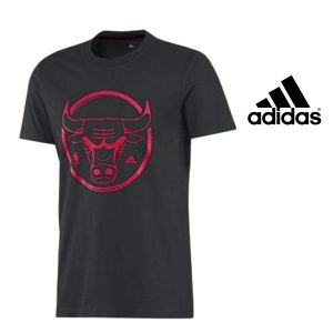 Adidas® T-Shirt NBA Chicago Bulls Junior Black