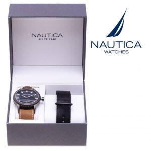 Relógio Nautica® NAD16000G | 10ATM | Bracelete Extra