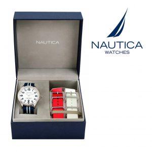 Relógio Nautica® A09920G | 10ATM | 2 Braceletes Extra