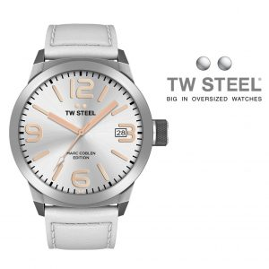 Relógio TW Steel® Bracelete de Couro | TWMC44