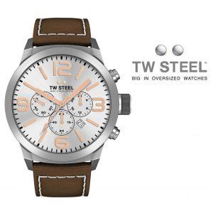 Relógio TW Steel® Bracelete de Couro | TWMC11