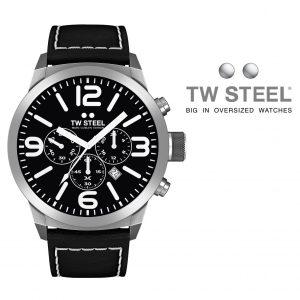 Relógio TW Steel® Bracelete de Couro | TWMC33