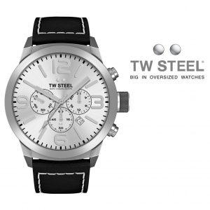 Relógio TW Steel® Bracelete de Couro | TWMC35