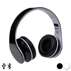 Auriculares de Diadema Dobráveis com Bluetooth | Disponível em 2 Cores!