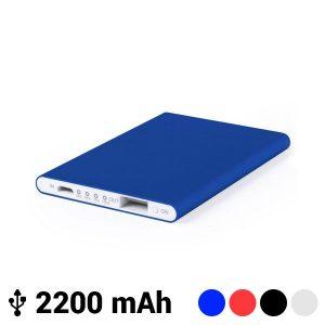 Power Bank Extrafino com Micro USB 2200 mAh LED | Disponível em4 Cores!