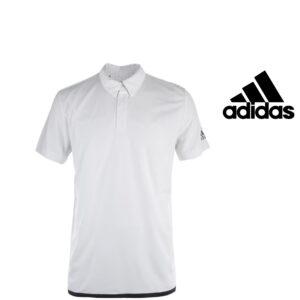 Adidas® Polo Uncontrol Branco | Tecnologia Climachill®