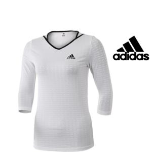 Adidas® Camisola Essentials Long White | Tecnologia Climalite®