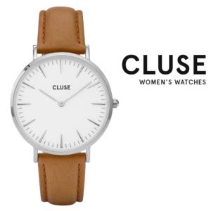 Relógio Cluse® La Bohème Silver White Caramel | 38MM