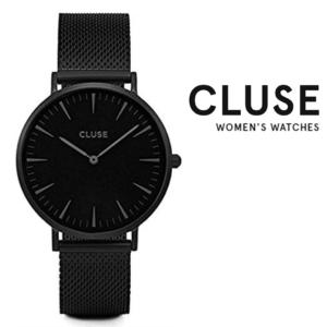 Relógio Cluse® La Bohème Mesh Full Black | 38MM