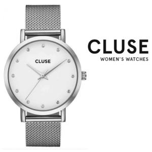 Relógio Cluse® Pavane Silver Stones | 38MM