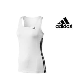Adidas® Caveada Essentials 3 Stripes White | Tecnologia Climalite®