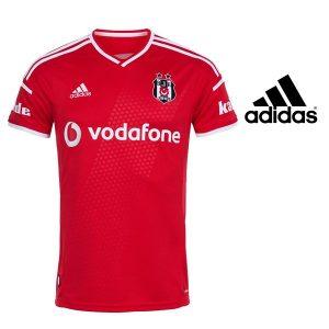 Adidas® Camisola Besiktas Oficial BJK 14 Red | Tecnologia Climacool®