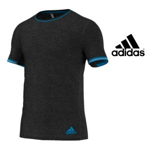 Adidas® T-Shirt Training Supernova Dark Grey   Tecnologia Climachill®