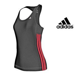 Adidas® Caveada Essentials 3 Stripes Black | Tecnologia Climalite®