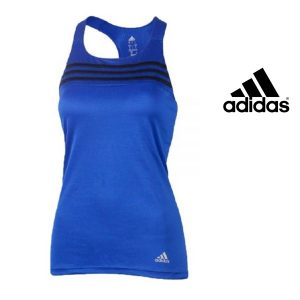 Adidas® Caveada Response Cup Tank Top Blue | Tecnologia Climalite®