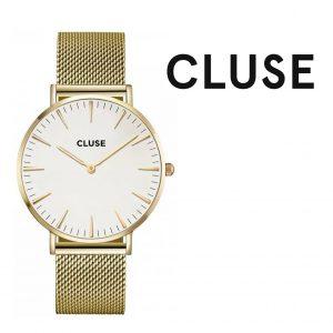 Relógio Cluse® La Bohème Mesh Gold/White | 38MM