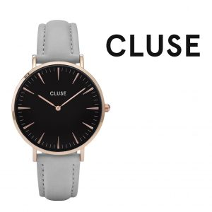 Relógio Cluse® La Bohème Rose Gold Black Grey | 38MM