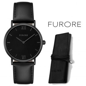 Relógio Furore® Breeze Black Wave