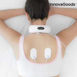 Aparelho de Massagem Eletromagnética Para Pescoço e Costas Wellness Care