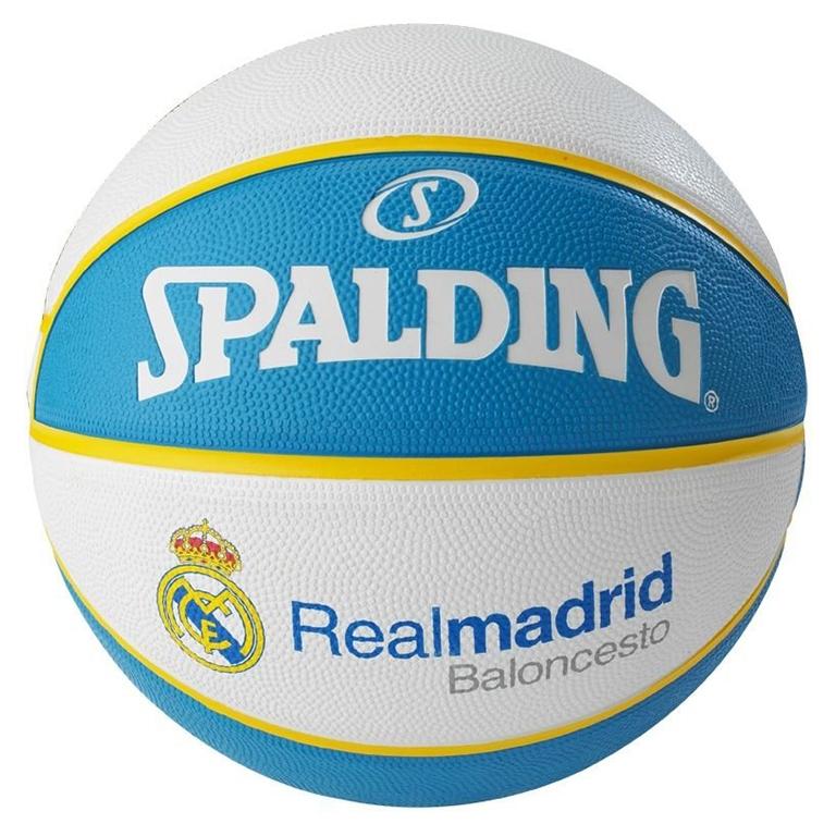 Real Ballon De Basketball Madrid Spalding® WHb2E9IeDY