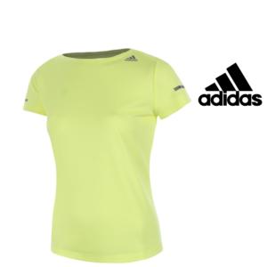 Adidas® T-Shirt Running Frozen Yellow | Tecnologia Climalite®