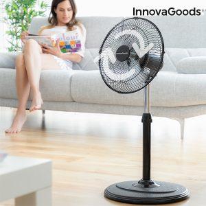 Ventilador de Pé Oscilante 360º Home Climate